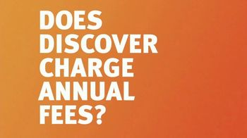 Discover Card Super Bowl 2020 TV Spot, 'No We Don't Charge Annual Fees' - Thumbnail 6