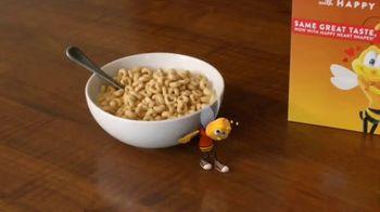 Honey Nut Cheerios TV Spot, 'Buzz Meets Leslie: Heart Shapes' Featuring Leslie David Baker - Thumbnail 1