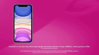 T-Mobile TV Spot, 'Two Lines for $90 Plus Two iPhone 11s' - Thumbnail 4