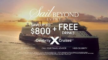 Celebrity Cruises Sail Beyond Event TV Spot, 'Up to $800' Song by Jefferson Airplane - Thumbnail 9