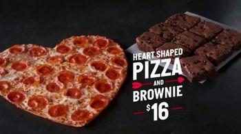 Papa John's Heart-Shaped Pizza TV Spot, 'Cupid' - 1 commercial airings