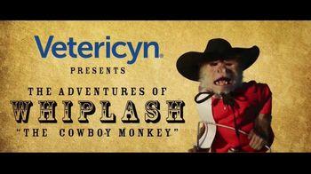 Vetericyn Animal Wellness Foam Care Shamooo TV Spot, 'Whiplash the Cowboy Monkey Goes to Teskey's' - Thumbnail 1