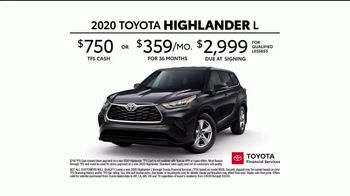 2020 Toyota Highlander TV Spot, 'Heroes' Featuring Cobie Smulders [T2] - Thumbnail 8