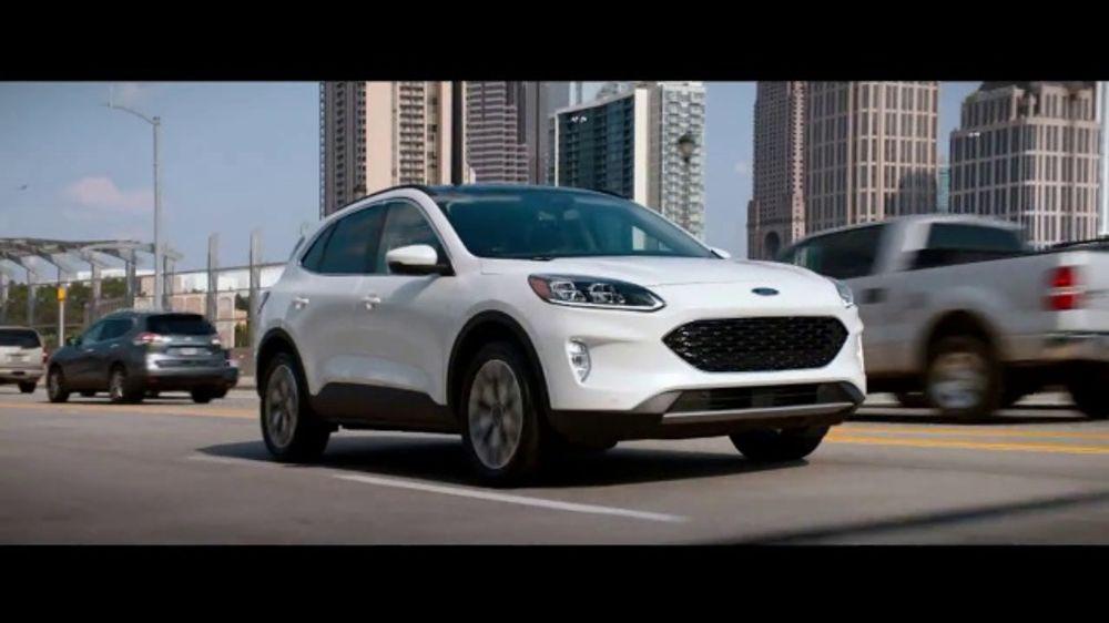 2020 Ford Escape Tv Commercial Born To Roll Carpool Queen