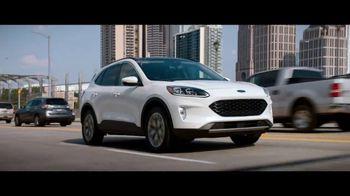 2020 Ford Escape TV Spot, 'Born to Roll: Carpool Queen' Featuring Nicole Ari Parker [T2] - Thumbnail 3