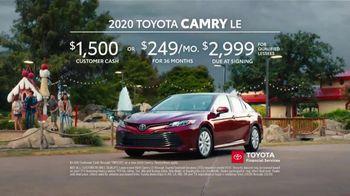 2020 Toyota Camry TV Spot, 'Roomy' [T2] - Thumbnail 8