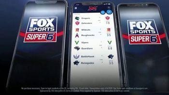 FOX Sports App TV Spot, 'XFL Super 6' - Thumbnail 3