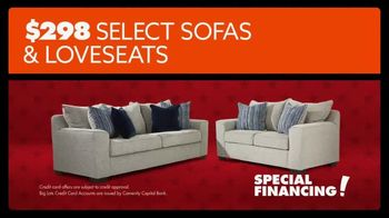 Big Lots Presidents Day Sale TV Spot, 'Select Sofas and Loveseats' - Thumbnail 7