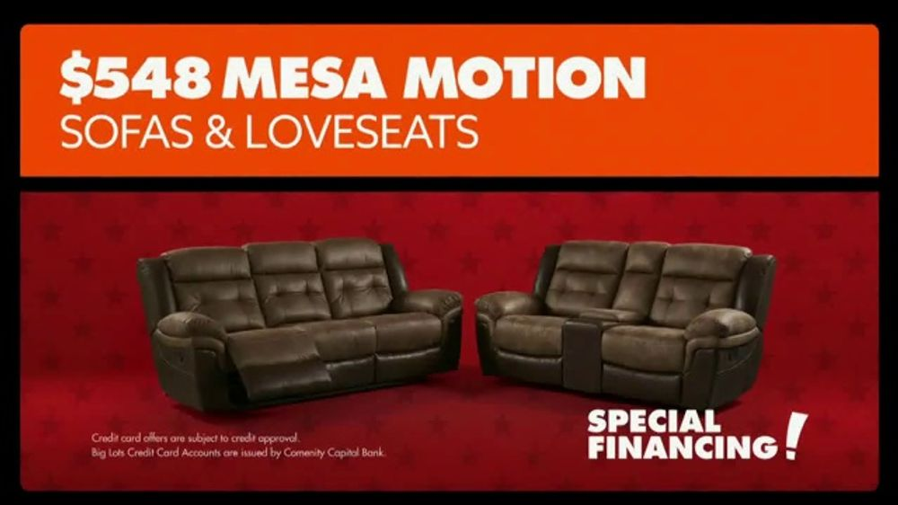 Big Lots Presidents Day Sale Tv Commercial Loveseats And Sofas Ispot Tv