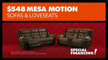 Big Lots Presidents Day Sale TV Spot, 'Loveseats and Sofas'