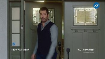 ADT Smart Home Security Sale TV Spot, 'All These Things Combined: Free Install' Featuring Jonathan Scott, Drew Scott - Thumbnail 2