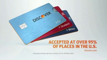 Discover Card TV Spot, 'Yes We're Accepted' - Thumbnail 9