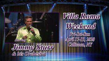 Villa Roma Resort & Conference Center TV Spot, 'Villa Roma Weekend' - 6 commercial airings
