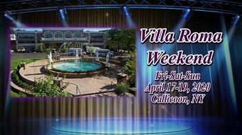 Villa Roma Resort & Conference Center TV Spot, 'Villa Roma Weekend' - Thumbnail 1