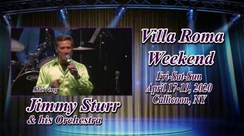 Villa Roma Resort & Conference Center TV Spot, 'Villa Roma Weekend' - 6 commercial airings