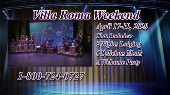 Villa Roma Resort & Conference Center TV Spot, 'Villa Roma Weekend' - Thumbnail 5