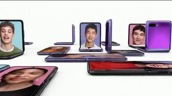 Samsung Galaxy Z Flip TV Spot, 'Change the Shape of the Future' Song by Serge Gainsbourg - Thumbnail 7