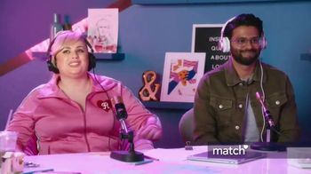 Match.com TV Spot, 'Have I Been Ghosted?' Featuring Rebel Wilson - Thumbnail 4