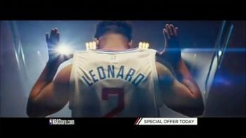 NBA Store TV Spot, 'Gear Up: Clippers & Lakers: Special Holiday Offer'
