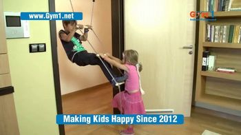Gym1 Indoor Playground TV Spot, 'Swing, Climb, Play INDOORS: $159.95' - Thumbnail 3
