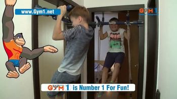 Gym1 Indoor Playground TV Spot, 'Swing, Climb, Play INDOORS: $159.95' - Thumbnail 4