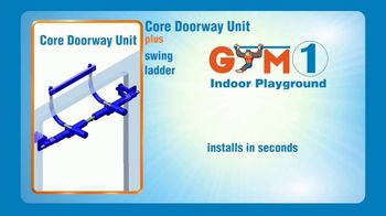 Gym1 Indoor Playground TV Spot, 'Swing, Climb, Play INDOORS: $159.95' - Thumbnail 8