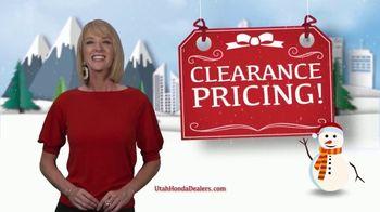 Happy Honda Days TV Spot, 'Utah: Clearance Pricing' [T2] - Thumbnail 1