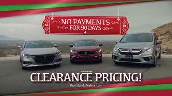 Happy Honda Days TV Spot, 'Utah: Clearance Pricing' [T2] - Thumbnail 4