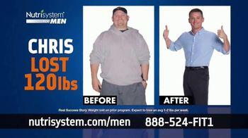 Nutrisystem BOGO Sale TV Spot, 'Nutrisystem for Men: Time to Get Healthy: 18 Pounds'