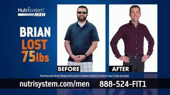Nutrisystem BOGO Sale TV Spot, 'Nutrisystem for Men: Time to Get Healthy: 18 Pounds' - Thumbnail 9