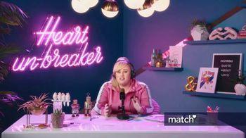 Match.com TV Spot, 'Opening Lines' Featuring Rebel Wilson - Thumbnail 2