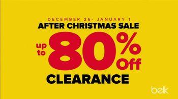 Belk After Christmas Sale TV Spot, 'Doorbusters: Coats, Boots and Bras'
