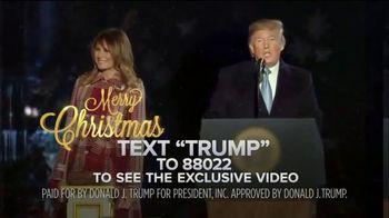 Donald J. Trump for President TV Spot, 'Holidays: Winning for America' - 34 commercial airings