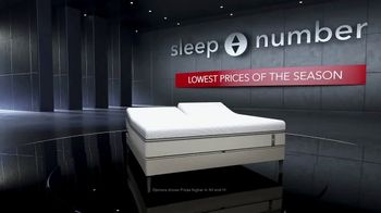 Sleep Number Lowest Prices of the Season TV Spot, 'Stay Asleep' - Thumbnail 1