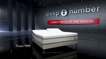 Sleep Number Lowest Prices of the Season TV Spot, 'Stay Asleep' - Thumbnail 2