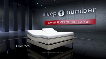Sleep Number Lowest Prices of the Season TV Spot, 'Stay Asleep' - Thumbnail 3