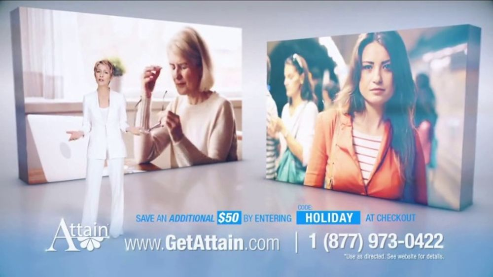 Attain TV Commercial, 'Many Things in Life You Can't Control: $50'