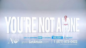 Attain TV Spot, 'Many Things in Life You Can't Control: $50'