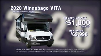 La Mesa RV Year End Indoor RV Blowout Sale TV Spot, 'Hundreds of Discounts: 2020 Winnebago VITA' - Thumbnail 4