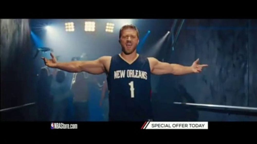 NBA Store TV Commercial, 'Holiday Offer: Pelicans and Nuggets'
