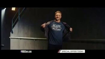 NBA Store TV Spot, 'Holiday Offer: Pelicans and Nuggets' - Thumbnail 1
