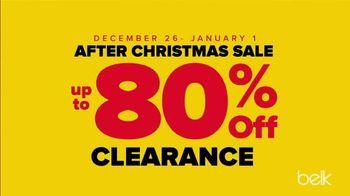 Belk After Christmas Sale TV Spot, 'Doorbusters: Christmas Decor, Nike & Under Armour'