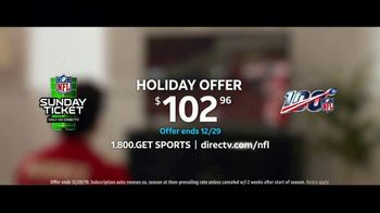 DIRECTV NFL Sunday Ticket TV Spot, 'A Better Way: Team Huddle: Holiday Offer' Featuring Patrick Mahomes - Thumbnail 9