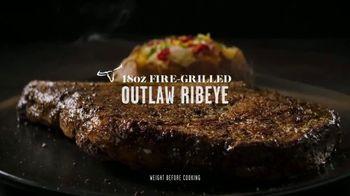 Longhorn Steakhouse TV Spot, 'Legendary: Salmon, Rib Eye Steak and Flo's Filet' - Thumbnail 7