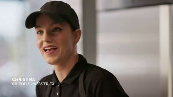 Chipotle Mexican Grill TV Spot, 'Christina: Fresh'