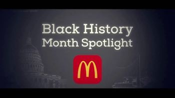 McDonald's TV Spot, 'Black History Month Spotlight: The Howard Theatre' - Thumbnail 1