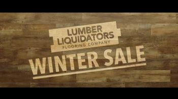 Lumber Liquidators Winter Sale TV Spot, 'Changes: 24 Month Special Financing' Song by Electric Banana - Thumbnail 4