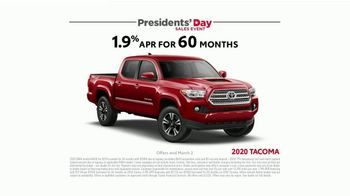 Toyota Presidents Day Sales Event TV Spot, 'Presidential Portrait' [T2] - Thumbnail 7