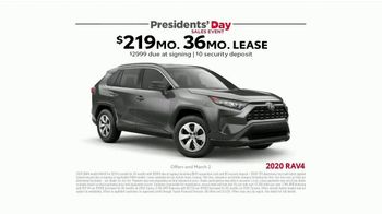 Toyota Presidents Day Sales Event TV Spot, 'Presidential Portrait' [T2] - Thumbnail 5