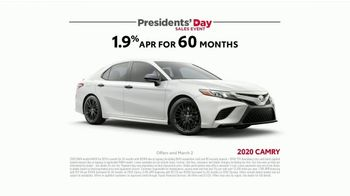 Toyota Presidents Day Sales Event TV Spot, 'Presidential Portrait' [T2] - Thumbnail 6